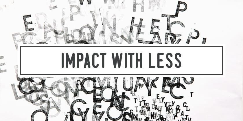 4.3 Anika Lacerte – Impact with Less